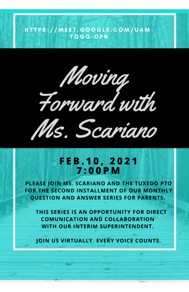 Moving Forward with Ms. Scariano 2/10/21