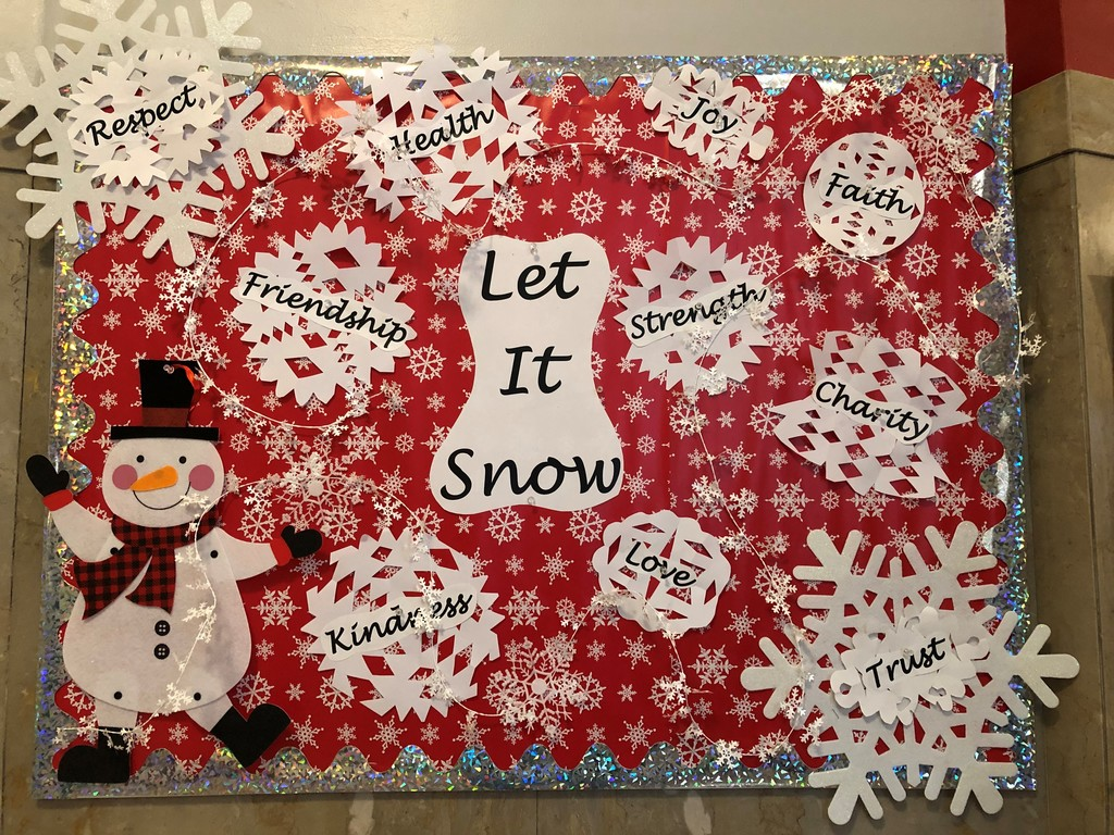 Holiday Bulletin Board