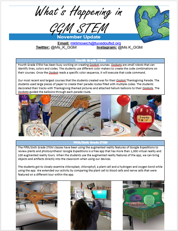 STEM Newsletter Page 2