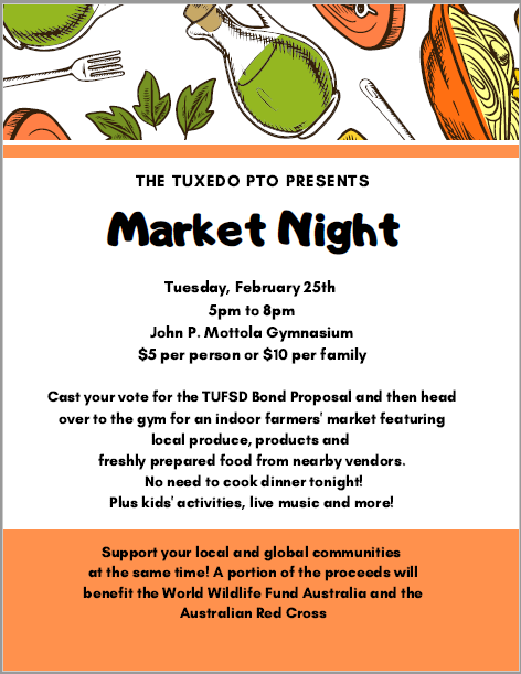 Save the Date:  Market Night