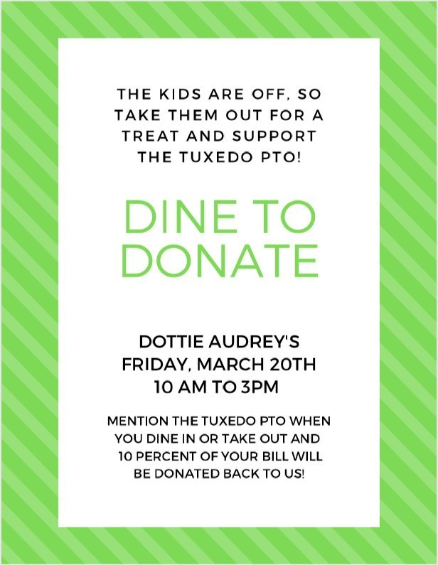 Dottie Audrey's Dine to Donate